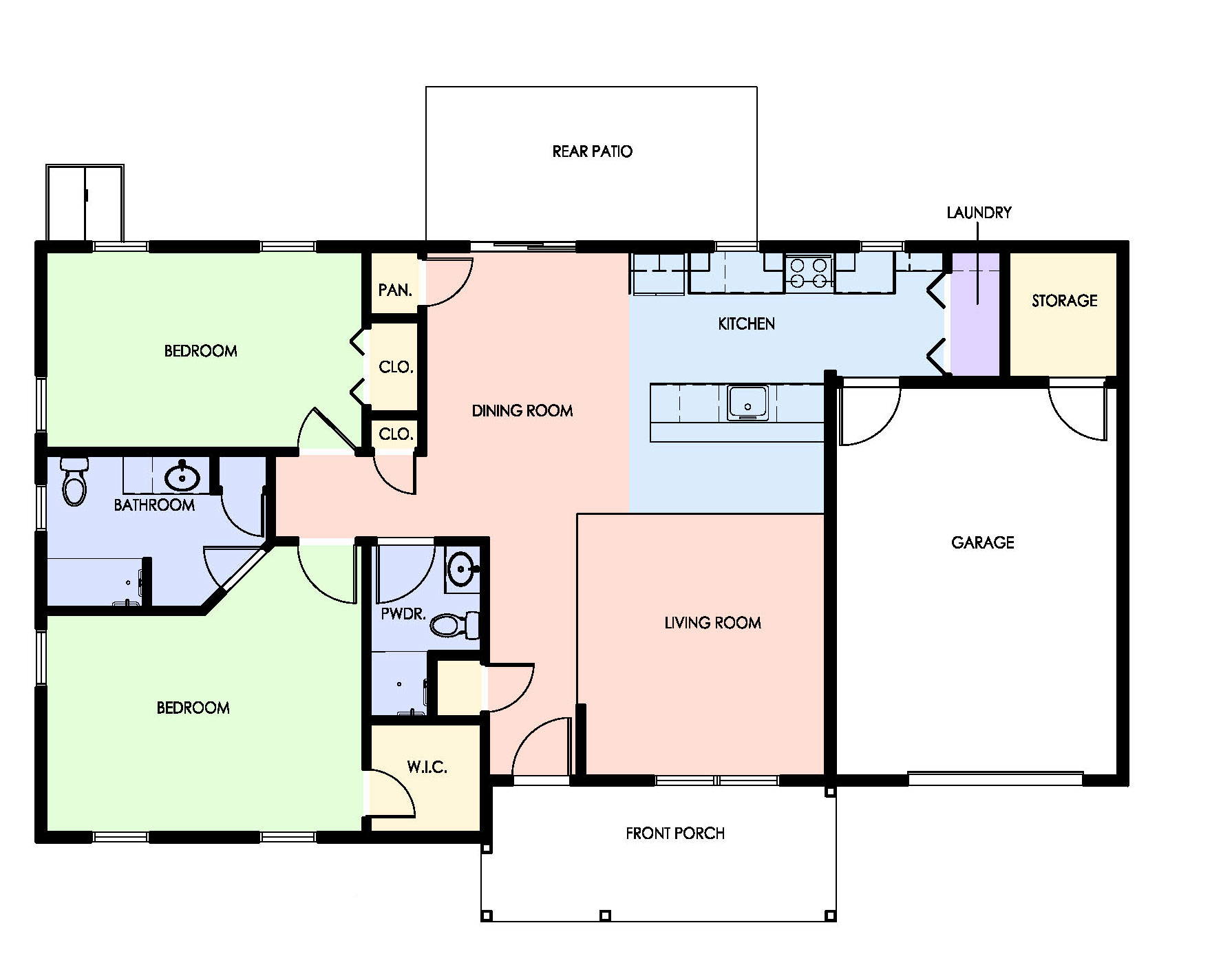 Expansion Project Floor Plan
